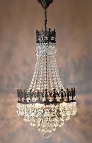 antique waterfall chandelier