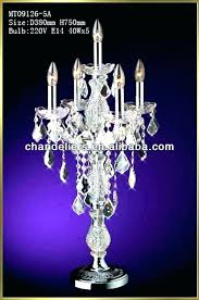 table top lamps table top lamps pertaining to crystal chandelier table lamp prepare table top lamps