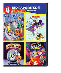 4 Kid Favorites: Tom and Jerry Adventures : Various, Various: Movies & TV -  Amazon.com