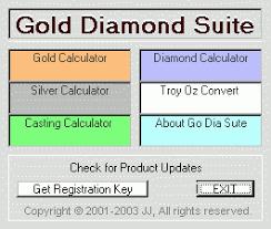 Gold Diamond Calculator Suite 4 21 Download