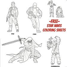 Small Picture Star Wars The Force Awakens Coloring Sheets Beauty Through