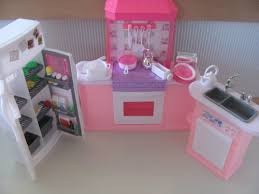 barbie doll house furniture. Kitchen: Inspiring Amazon Com Barbie Size Dollhouse Furniture Kitchen Set Toys In From Adorable Doll House