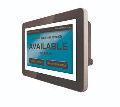 Poe Multi Touch Panel Conference Room Scheduler Display Ais