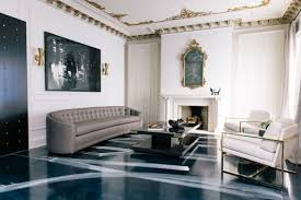 Tread Lightly  Painted Floors  Hadley Court  Interior Design BlogPainted Living Room Floors