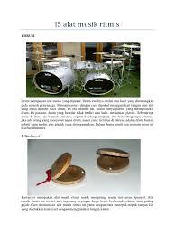 Alat musik ini biasanya menjadi nada utama dalam sebuah lagu. 93 Gambar Alat Musik Ritmis Melodis Dan Harmonis Kekinian Infobaru