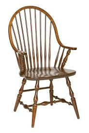 dining room chairs with arms. amish new england windsor dining room chair chairs with arms