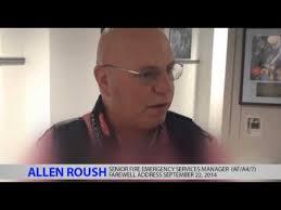 Mr Allen Roush Farewell Message Sept 2014 - YouTube
