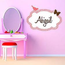 Small Picture Girls Name Decals l Decor Designs Decals