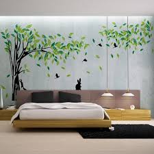 >large green tree wall sticker vinyl living room tv wall removable  large green tree wall sticker vinyl living room tv wall removable art decals home decor diy poster stickers vinilos paredes all wall stickers alphabet wall
