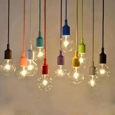 multi colored glass pendant lights furniture colored