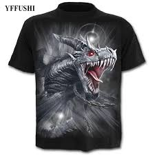 <b>YFFUSHI 2018 Male 3d</b> T shirt Hot Sale Dragon Print T shirt ...