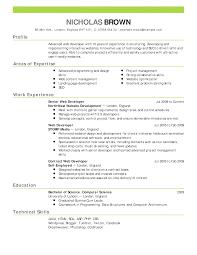 job example of resume for job example of resume for job full size