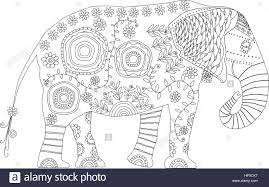 Small Picture Decorated Elephants Of Coloring Pages Coloring Coloring Pages