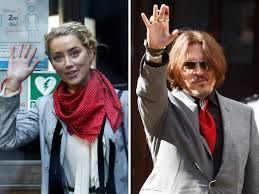 Johnny Depp: Amber Heard admits striking Johnny Depp for the first time in  March 2015 to defend her sister Whitney - The Economic Times
