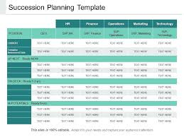 Presentation Resumes Succession Planning Template Sample Download Templates For Resumes
