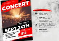 Concert Flyers Templates Flyer Free Brushes 438 Free Downloads