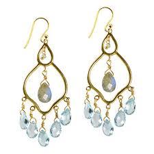jasmine chandelier earrings labradorite blue topaz