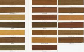 Sherwin Williams Stain Chart Wood Stain Sherwin Williams Wood Stain Colors