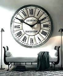 oversize wall clock hobby lobby wall clocks oversize wall clocks oversized wall clocks love the idea of an oversized extra large wall clock large