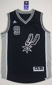Make Own Merchandise Sport Polyester Fabric San Antonio Spurs 9 Tony Parker Black New