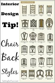 furniture design styles. design and decor tip chair back styles furniture