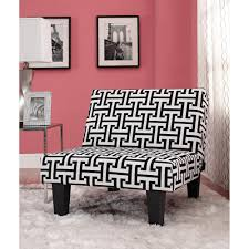 black and white geometric pattern kebo chair accent sofa for living room modern 29986202284