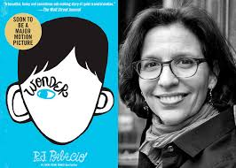 five years ago r j palacio introduced us to auggie pullman the hero of her phenomenal book wonder as a young boy with a severe deformity