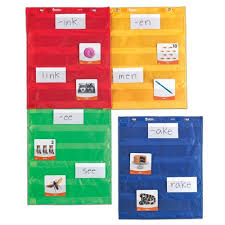 Learning Resources Magnetic Pocket Chart Squares Classroom Teacher Organizer All Grades Set Of 4