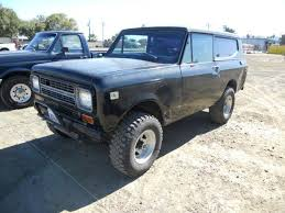 International Scout Suv