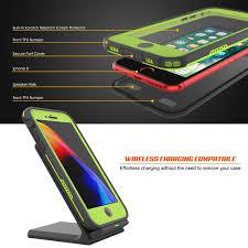 Green Light On Iphone Screen Iphone 8 Waterproof Case Punkcase Spikestar Light Green
