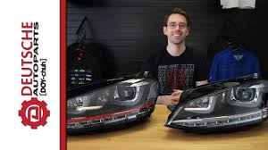 Mk7 Lighting Package Mk7 Gti And Golf Headlights Get Led Drls On Your Halogen