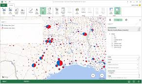 Add Map Chart To Excel 2016 Excel Power Map Winwaed Blog