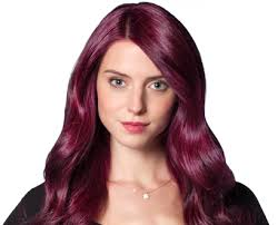 Semi Permanent Hair Dye Colour Chart Purple Hair Dye