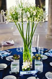 Good Images Of Blue And White Centerpieces For Wedding Table Decoration  Ideas : Fabulous Accessories For
