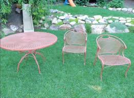 painting wrought iron furniture. Spray Painting Wrought Iron Furniture Throughout