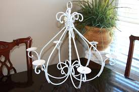 wax candle chandeliers chandelier lighting candelabra hanging non