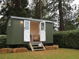 build a garden office. Shedworking: Build Your Own Shepherd\u0027s Hut Garden Office Using A Kit G