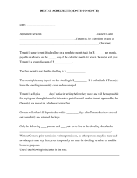 Simple Rental Lease Agreement Free 13 Best Rental Lease Examples Templates Download
