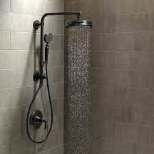 oil rubbed bronze hand held shower heads artifacts custom shower system oil rubbed bronze artifacts shower package with single function shower head and oil