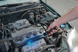 diagnosing engine overheating and uncommon cooling system problems the matco rpt102 cooling system pressure tester is being used after topping off the anti ze matco recommends coupling its tp3405 leak detection dye