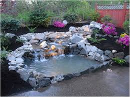 Small Picture Backyards Fascinating View In Gallery Koi Ponds And Water