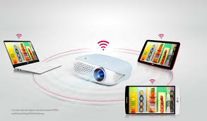 lg pw800g lg electronics uk wireless screen share mobile devices unlike conventional projectors