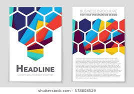 abstract vector layout background set for art template design list front page