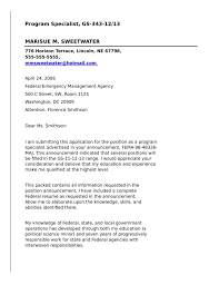 Awesome Collection Of Application Letter For Government Job Federal