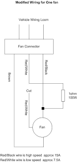 mkiv fan problem diagnosis repair from uk mkivs fan circuit diagram 8 repeat 6 and 7 for the smaller fan the other resistor