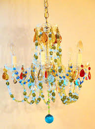 gorgeous colored glass chandelier prisms chandeliers with color crystals images