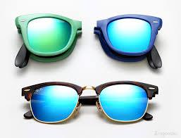 ray ban colored mirror sunglasses summer 2016