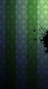 Pattern stripe green black