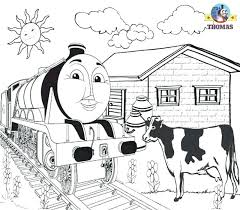 Coloring Pages The Train Page Printable Pictures Free Thomas Tank