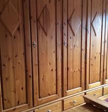Schlafzimmerschrank Kleiderschrank Echt Holz In 51379 Leverkusen Für